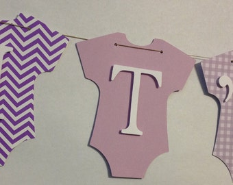 It's A Girl Baby Banner, Baby Shower Decorations, Party Decorations, Stork