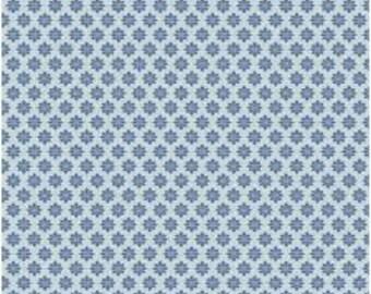 """TILDA - Starflower - Blue - 1/2 yd x 54"""""""