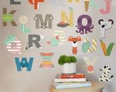 Interactive Alphabet  - WALL DECAL