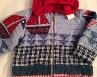 L1    Handmade boys size 6 jacket