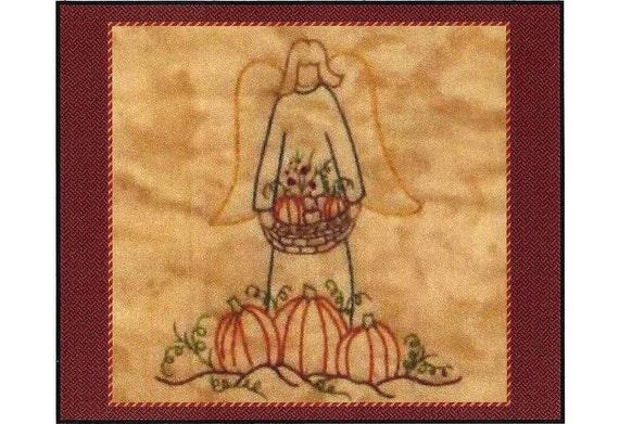 Redwork angels november redwork hand embroidery for Wellington house designs