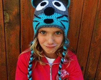 Mouse Hat, Crochet Kids Hat, Custom Colors, Funny Hat