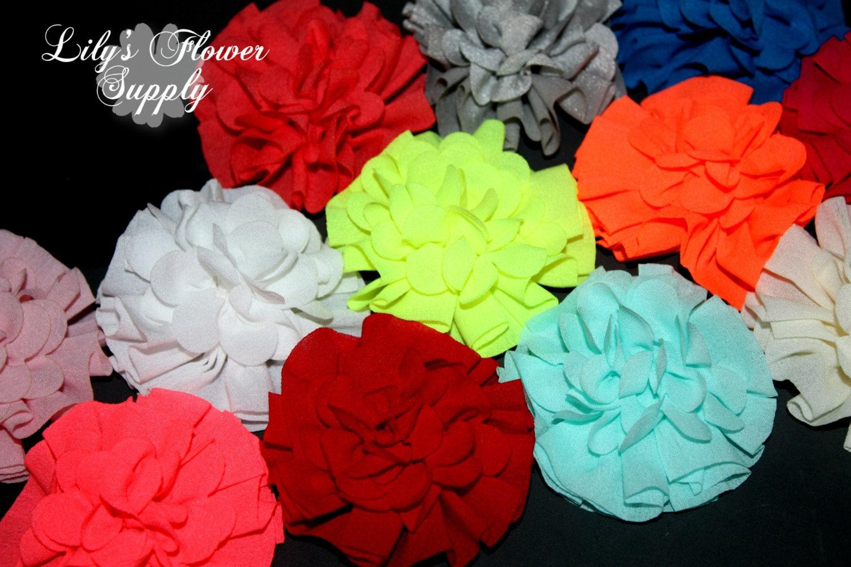 Fabric Flowers Wholesale fabric flowers Ballerina Flowers
