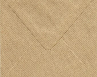 10 square  ECO  envelopes  for cards and invitations