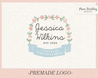 Custom Logo Design Premade Logo and Watermark - FB101