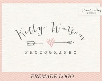 Custom Logo Design and Watermark - Premade  FB082