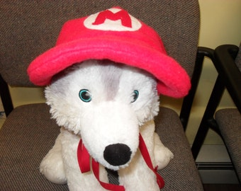 Super Mario hats for dogs and cats.