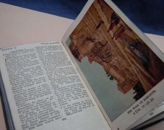 Original U.S. White House pocket Bible Illustrated & signed 1917
