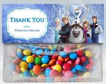 Disney Frozen Favor Bag Toppers