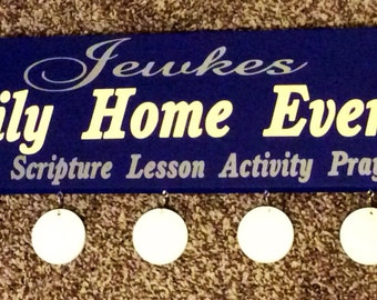 Family Home Evening Board Style 3