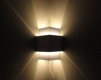 Corner Lamp  Wall Light Fixture