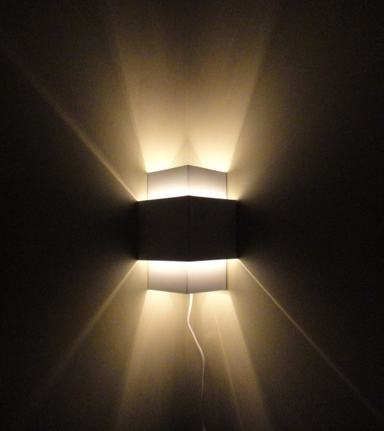 Corner Lamp Wall Light Fixture