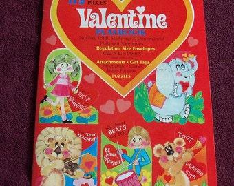 Vintage 175 Piece Valentine Playbook Never Used