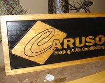 Wood Carved Signs Craft Show Displays Business Logos Personalized Sign Etsy Banner Logo Signs Benchmark Signs