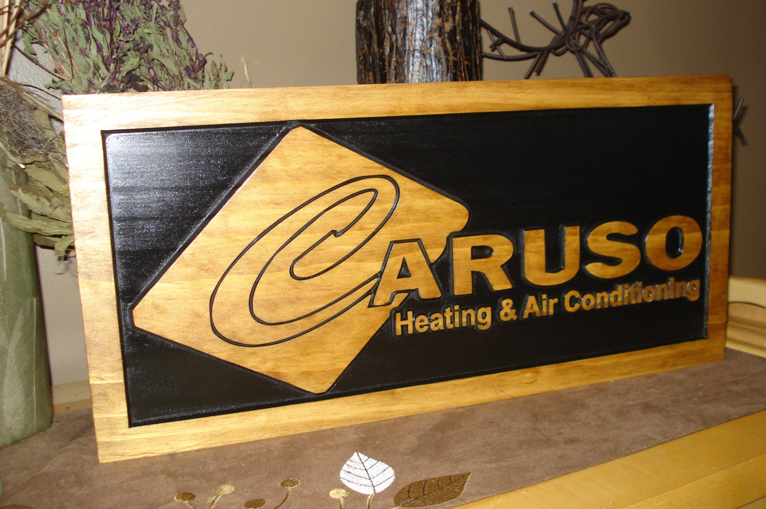Wood carved signs craft show displays business logos for How to display wood signs at craft show