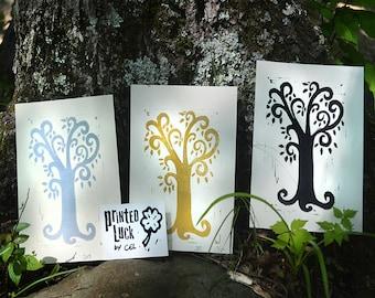 Tree Whimsy Print