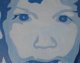 Original custom created,  monochromatic paintings