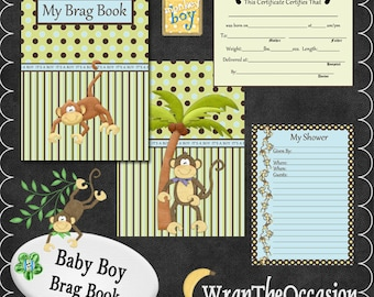 Monkey Business Boy Brag Book