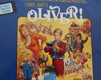 Oliver- Original Soundtrack- Lionel Bart - vinyl record