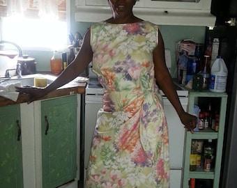 Handmade Floral Dress