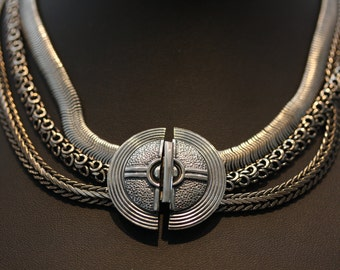 Bold Ermani Bulatti Ironwork Necklace