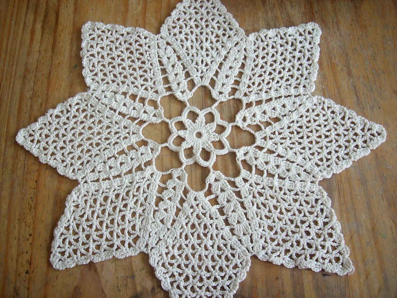 Tapete tejido en crochet car interior design for Tapetes de ganchillo