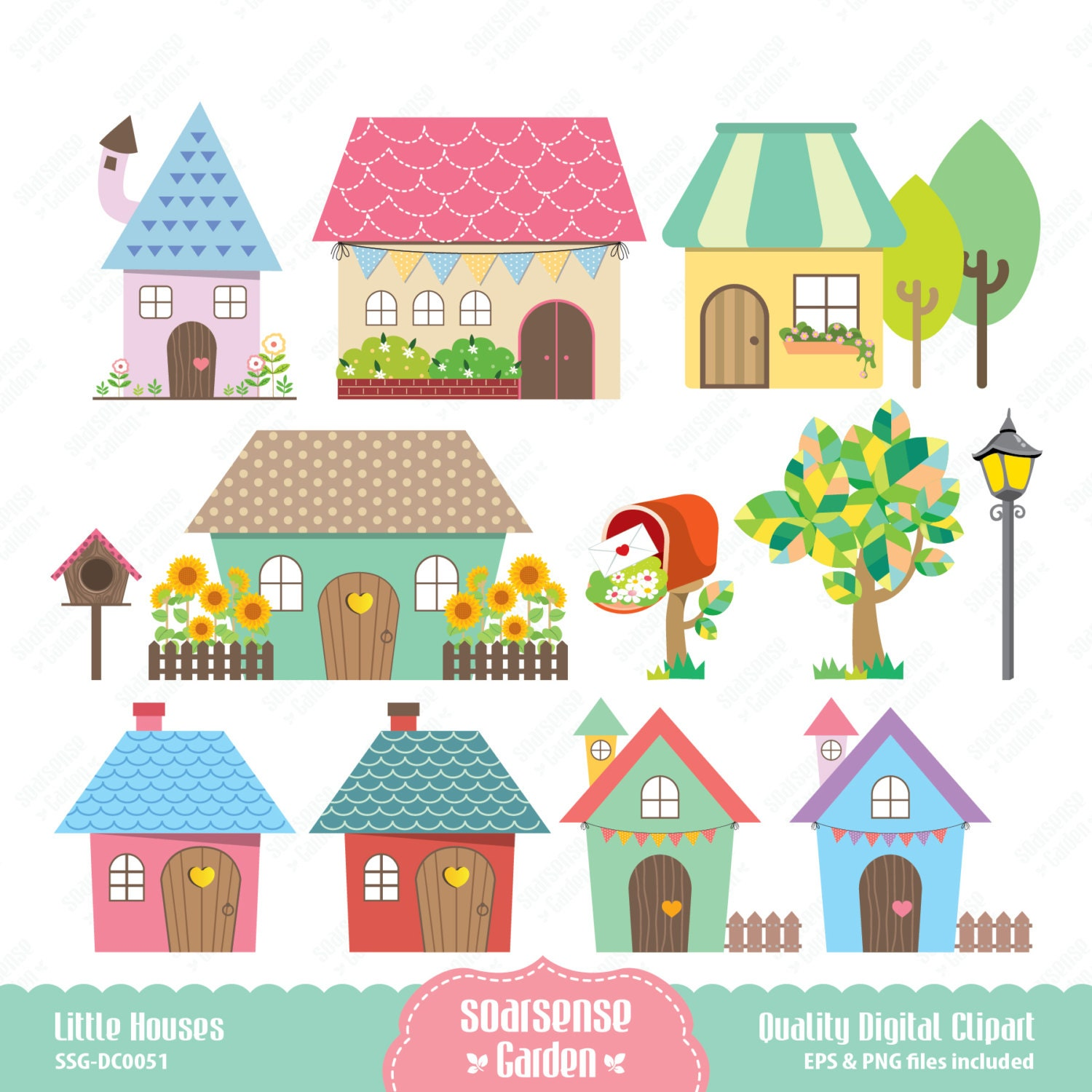 Cute home clipart for Photos of cute houses