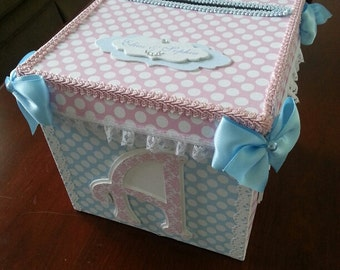 Baby Shower Gift Card Holder Box diabetesmanginfo