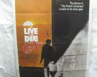 To Live And Die In L.A. 1985 Movie Poster mp014