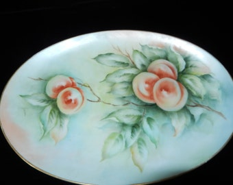 HAND PAINTED SERVING Dish