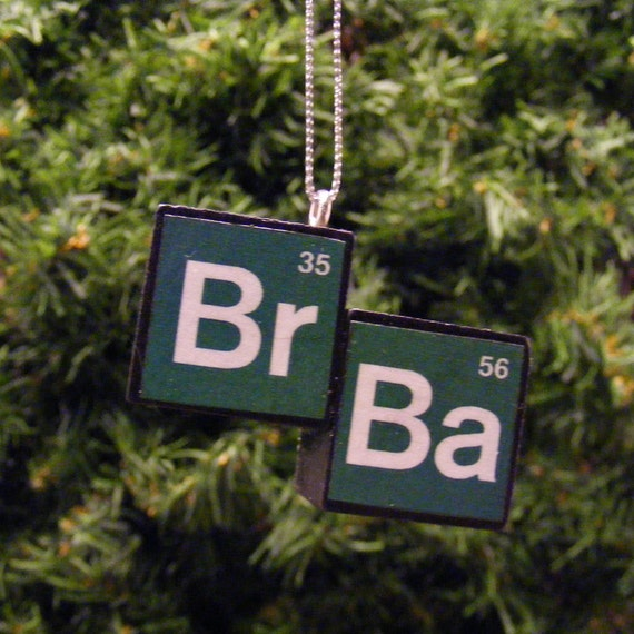 Breaking Bad Symbol Breaking Bad Inspired Bromine