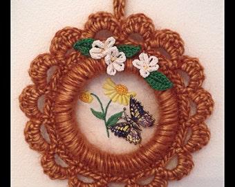 Crochet Wall Plaque