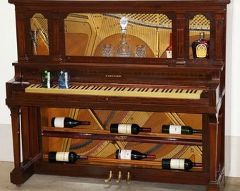 Repurposed Piano Bar