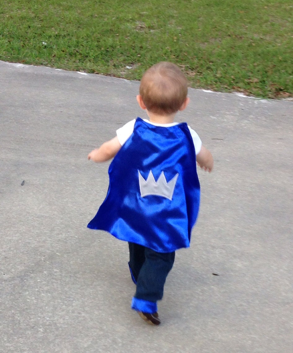 Prince Cape Satin First Birthday 1st 2nd Or 3rd Baby Boys