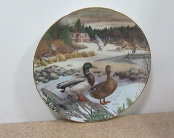1986 Bart Jerner Plate title The Mallard