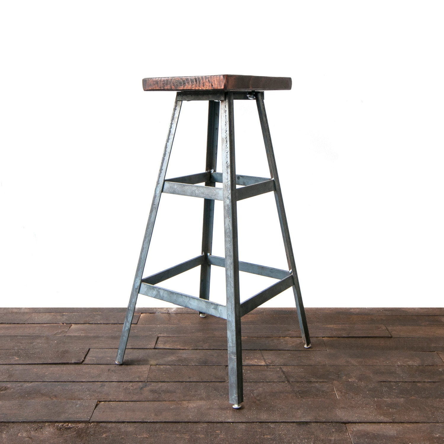 modern metal barstool industrial stool bar stool shop. Black Bedroom Furniture Sets. Home Design Ideas