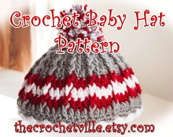 Ponto Crochet Baby Hat Pattern