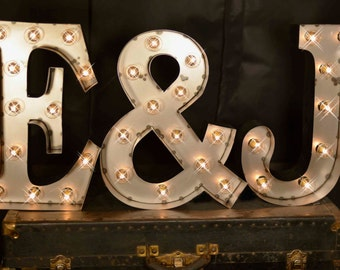 3 letter package marquee letters marquee light carnival letter wedding lighted - Lighted Marquee Letters