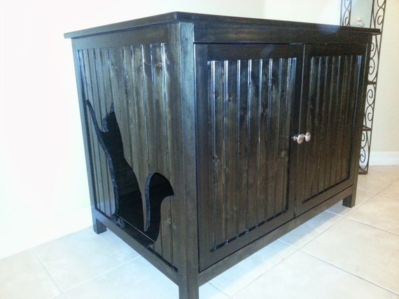 Giant Odor Free Cat Litter Box Cabinet Bathroom Made In