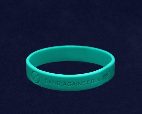 anti bullying silicone bracelet re silb but