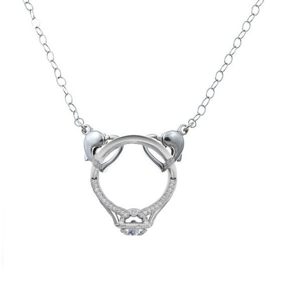 like this item - Wedding Ring Necklace