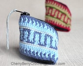 Coins Purse or Sewing Necessaire Crochet Pattern