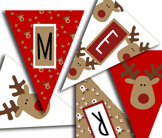 Effortless image pertaining to merry christmas banner printable