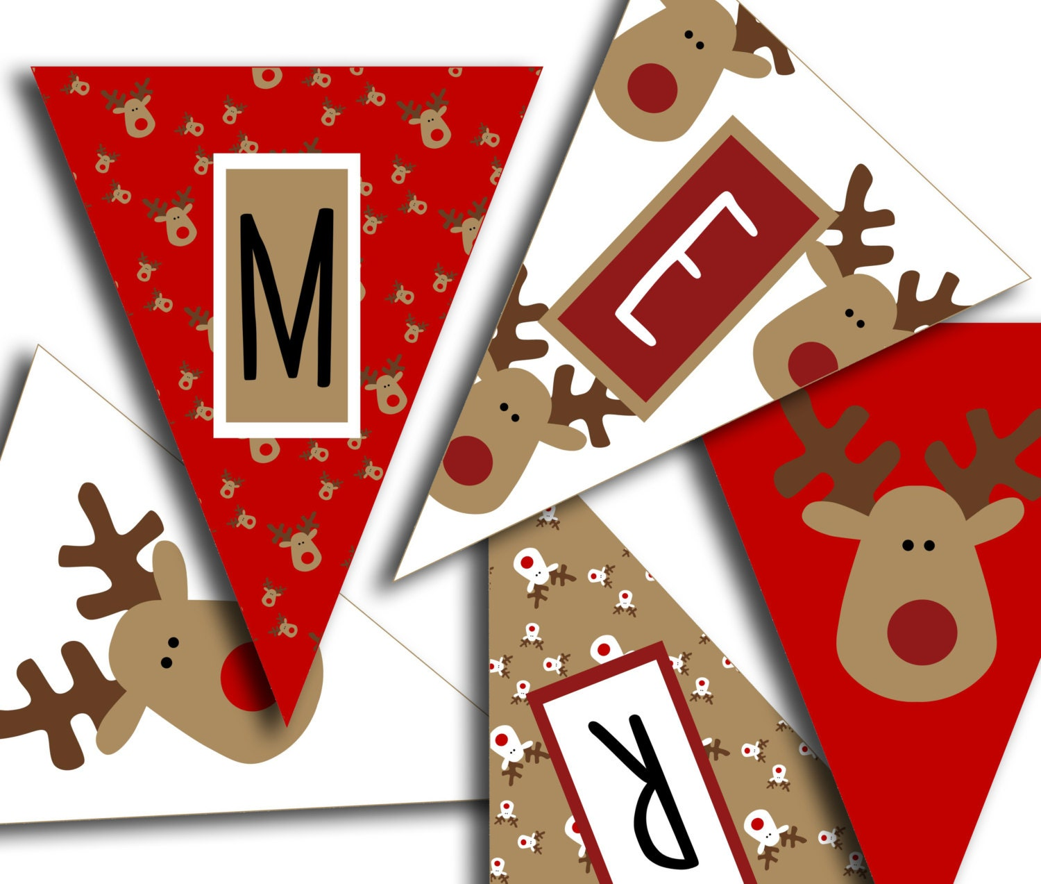Old Fashioned image in printable christmas banner
