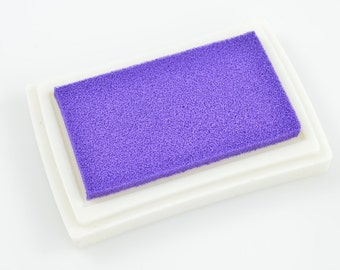INK STAMP PAD - Purple Stamp Pad (7.5cm x 5.3cm)
