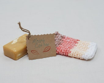 Crocheted Soap Saver Soap Cozy Soap On A Rope