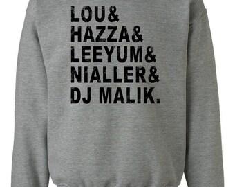 One Direction Inspired Sweatshirt Legacy