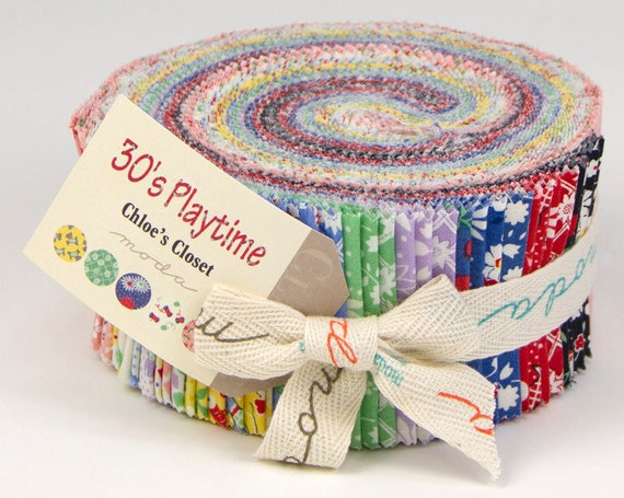Moda 30s Playtime Jelly Roll