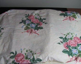 Cotton quilting material, Garden Botanica for Quilt for a Cure made by Hi-Fashion Fabrics almost 6 yards