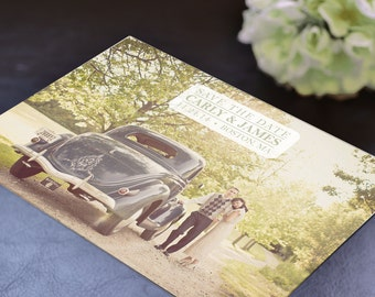 Vintage Carly Wedding Save the Date - Deposit